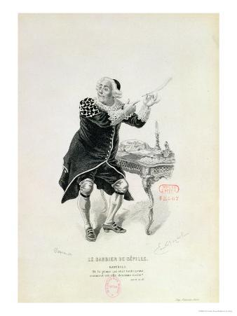 "Dr Bartolo, from the Opera ""The Barber of Seville"" by Rossini"