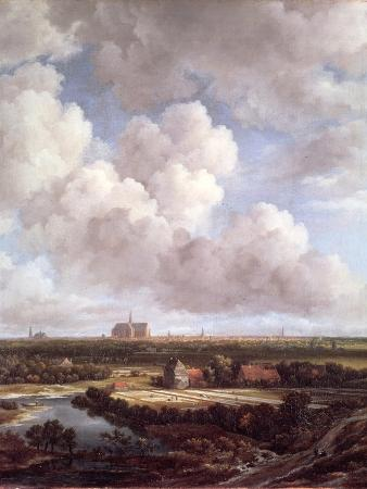 Bleaching Ground in the Countryside Near Haarlem, 1670