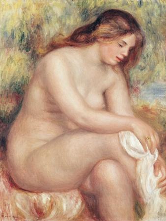 Bather Drying Herself, circa 1910