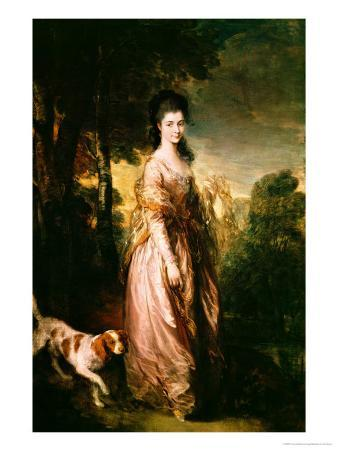 Portrait of Mrs. Lowndes-Stone circa 1775