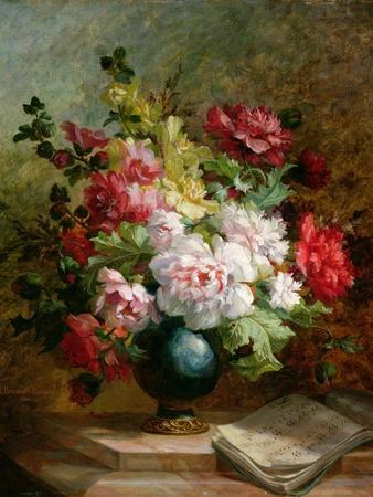 Still Life with Flowers and Sheet Music
