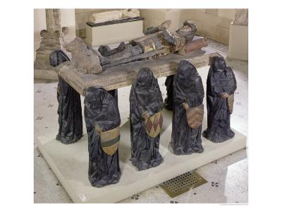 Tomb of Philippe Pot from Citeaux Abbey, circa 1480-83