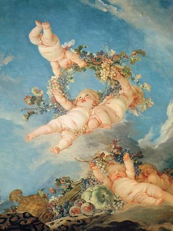Autumn, from a Series of the Four Seasons in the Salle Du Conseil