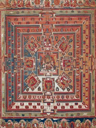 Mandala of Vaishravana