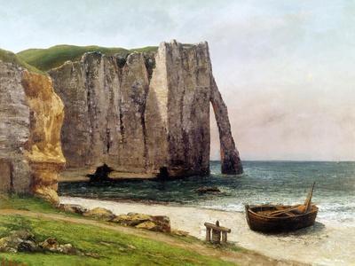 The Cliffs at Etretat, 1869