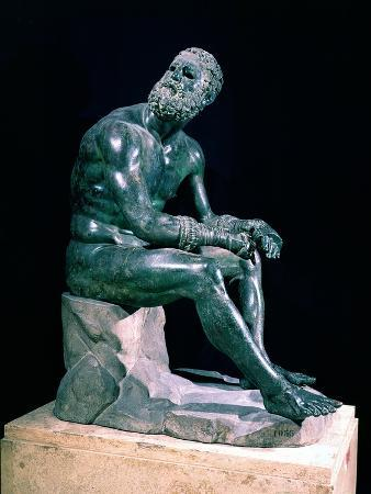 Seated Boxer