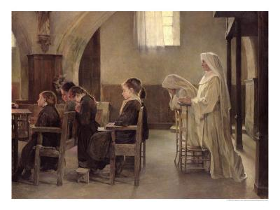 The Eve of the First Communion, Before 1890
