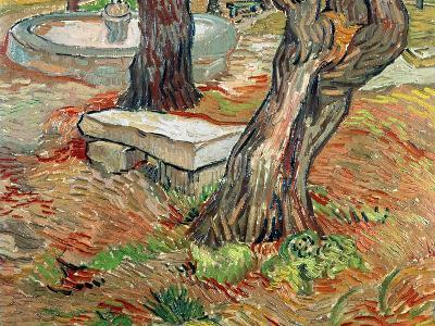 The Bench at Saint-Remy, c.1889