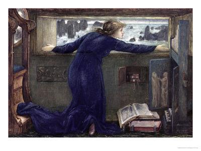 Dorigen of Bretaigne Longing for the Safe Return of Her Husband, 1871