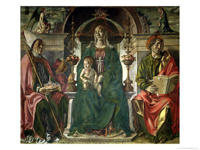 The Virgin and Saints, 1474