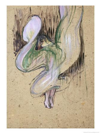 Study for Loie Fuller at the Folies Bergeres, 1893