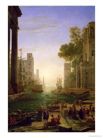 Embarkation of St. Paul at Ostia