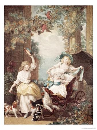Princesses Mary, Sophia and Amelia, Daughters of George III