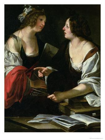 Allegory of Painting and Architecture