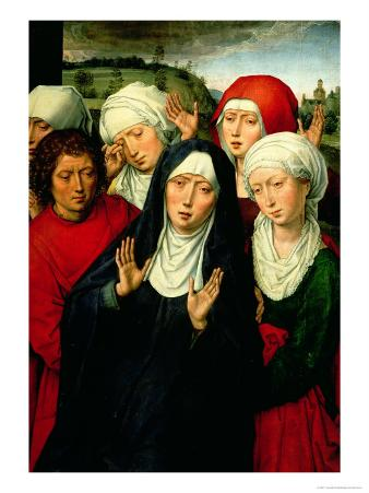 The Holy Women, Right Hand Panel of the Deposition Diptych, circa 1492-94