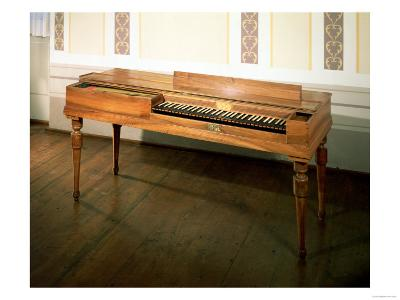 Clavichord, Once Owned by Franz Joseph Haydn, Made by Ferdinand Hofmann