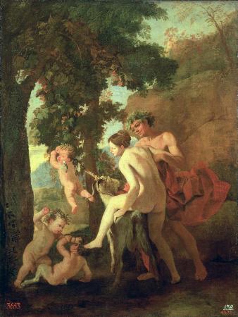 Venus, Faun and Putti, Early 1630s