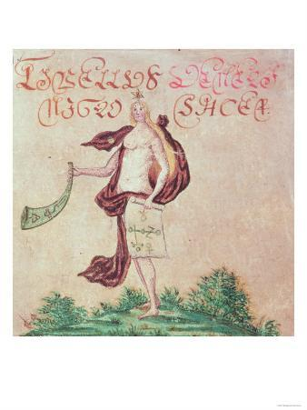 """Frontispiece to """"A Little Book of Love"""" by John Dee"""