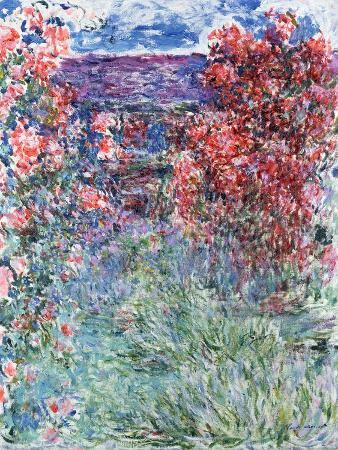 The House at Giverny Under the Roses, 1925