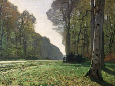 The Road to Bas-Breau, Fontainebleau, circa 1865