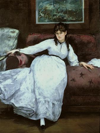 The Rest, Portrait of Berthe Morisot, 1870