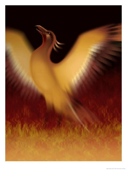 The Mythical Phoenix Rising From Ashes Posters At Allposterscom
