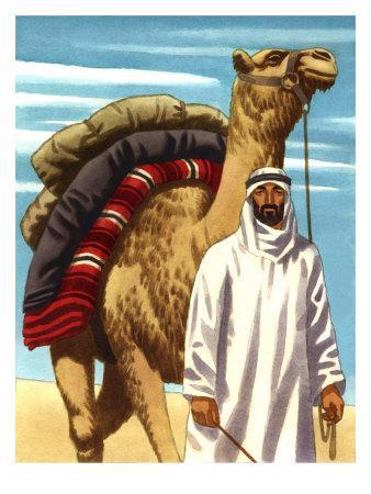 Bedouin (Arabic Nomadic Tribesman)