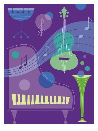 Musical Instrument Montage