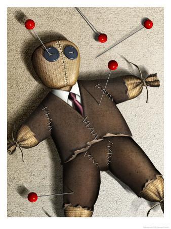 Businessman Voodoo Doll