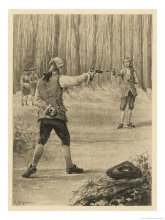 Giovanni He Fights a Duel with Branecki