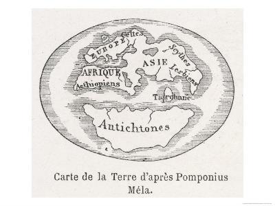 As Known to Pomponius Mela Roman Geographer