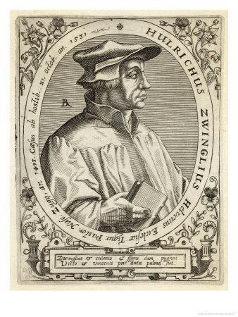 Ulrich Zwingli Swiss Religious Reformer