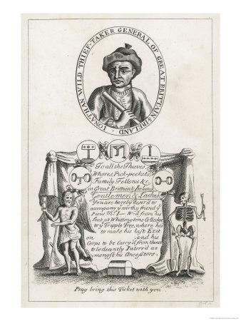Jonathan Wild the Thief and Thief Taker Who was Executed at Tyburn in 1725