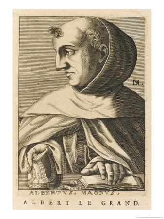 Albertus Magnus German Scholar Bishop of Ratisbon