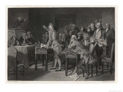 Patrick Henry Introduces Radical Resolutions Opposing the Stamp Act