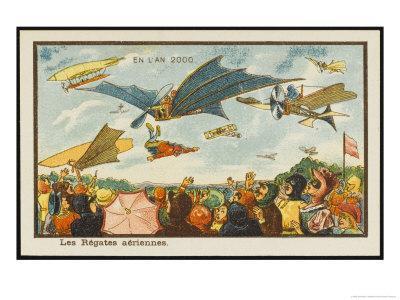 An Aerial Regatta
