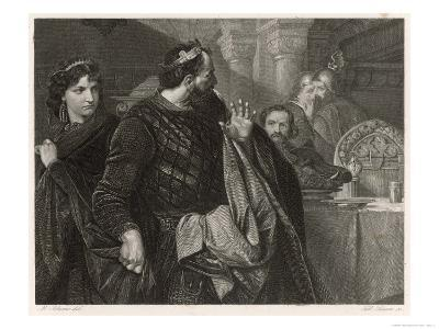 Macbeth, He Alone Sees Banquo's Ghost at the Banquet