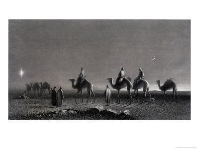 Jesus' Birth Magi Follow Star Across the Desert