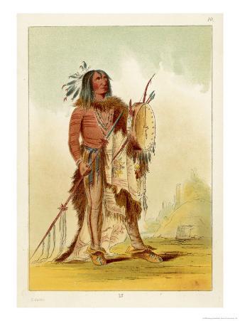 Wun-Nes-Tou Medicine-Man of the Blackfeet People