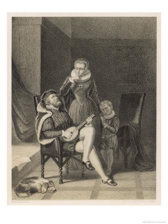 Erik XIV King of Sweden with His Mistress Catharina Mansdotter