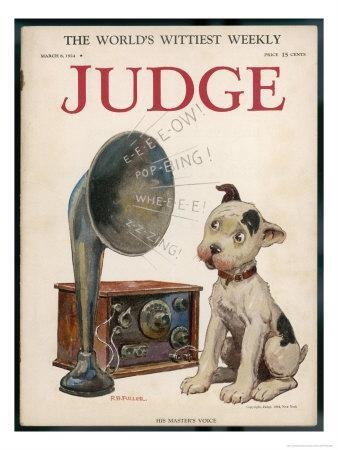 Dog and Wireless, His Masters Voice