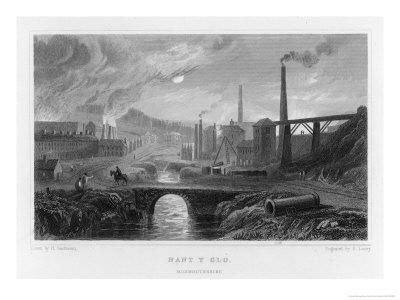 Ironworks at Nant-Y-Glo Wales