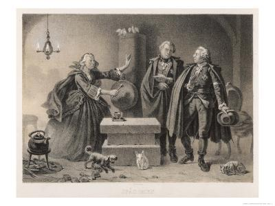 He Visits a Fortune-Teller Who Predicts, Correctly, Impending Disaster Ca 1791