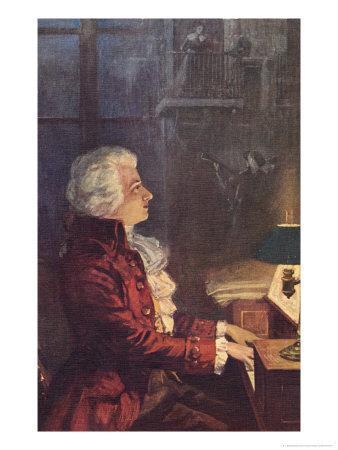 Wolfgang Amadeus Mozart Austrian Composer