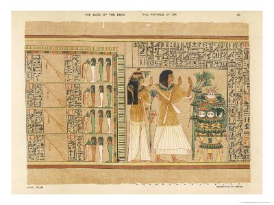 Book of the Dead: The Hall in Which are the Four Rudders of Heaven and Four Triads of Gods
