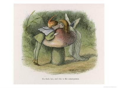 An Elf-Fairy Romance: He Finds Her and This is the Consequence