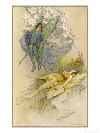 A Midsummer Night's Dream, Act II Scene II: Oberon Places a Spell on Titania