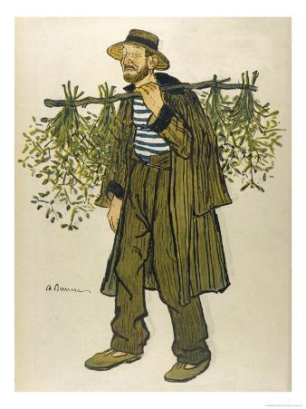 The Mistletoe Seller