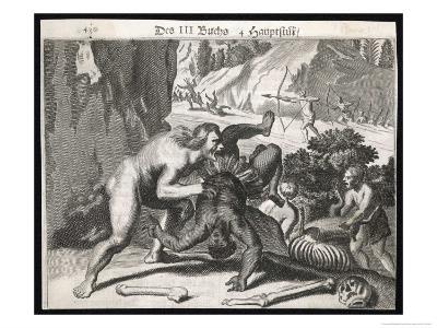 Cannibals Reported by Portuguese Conquistadores