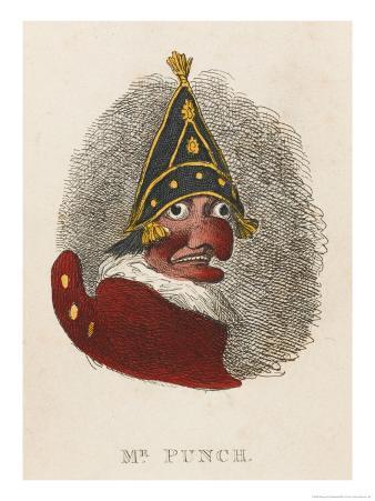 Portrait of Mr. Punch